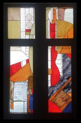 Изготовление витражей на окна №11