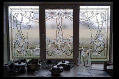 Изготовление витражей на окна №3