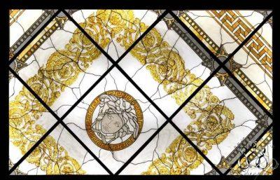 Эксклюзивные витражные изделия с росписью №1 - от 18100 руб. п/м