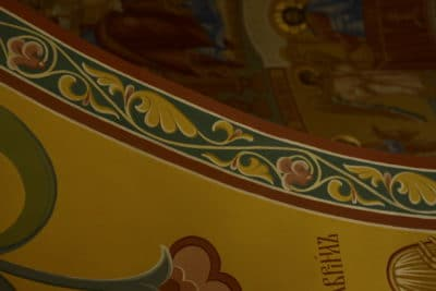 Мозаика и росписи стен №25