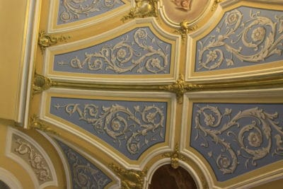 Мозаика и росписи стен №3