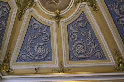 Мозаика и росписи стен №4