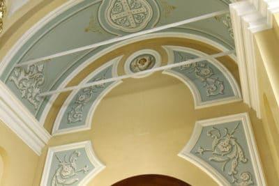 Мозаика и росписи стен №5