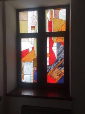 Изготовление витражей на окна №27 - Купить витражные окна