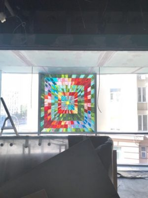 Изготовление витражей на окна №38 - Купить витражные окна