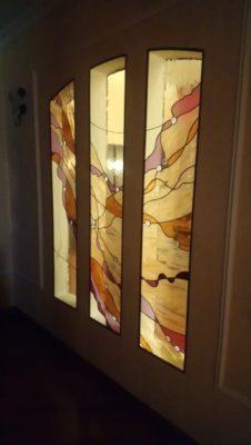 Изготовление витражей на окна №55 - Купить витражные окна