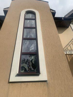 Изготовление витражей на окна №65 - Купить витражные окна