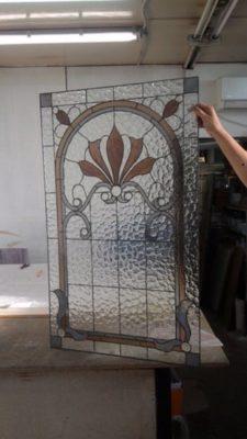 Изготовление витражей на окна №22 - Купить витражные окна