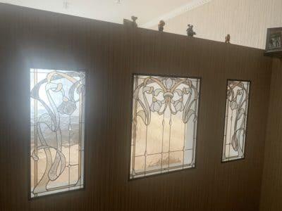 Изготовление витражей на окна №67 - Купить витражные окна
