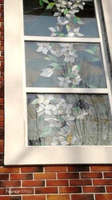 Изготовление витражей на окна №79 - Купить витражные окна