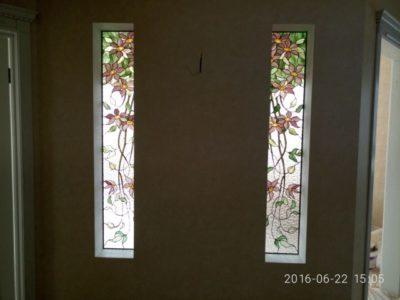 Изготовление витражей на окна №25 - Купить витражные окна