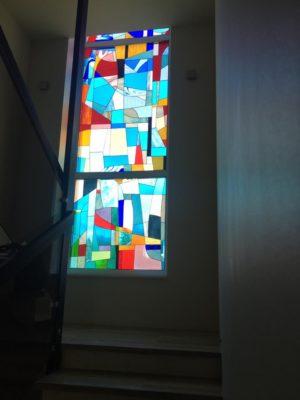 Изготовление витражей на окна №86 - Купить витражные окна