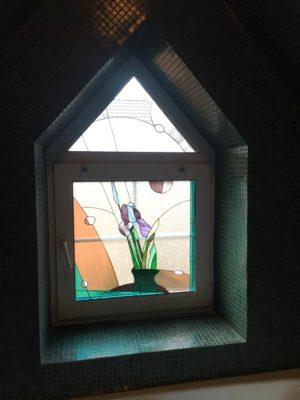 Изготовление витражей на окна №96 - Купить витражные окна
