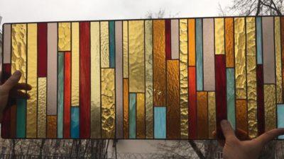 Изготовление витражей на окна №97 - Купить витражные окна